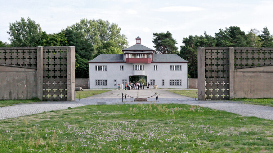 The entrance to Sachsenhausen concentration camp. Credit: Gubin Yury/Shutterstock.