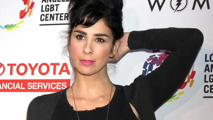 Comedian and actor Sarah Silverman. Credit: Kathy Hutchins/Shutterstock.
